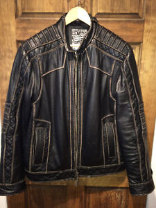 AFFLICTION LEATHER JACKET XL Gatineau Ottawa / Gatineau Area image 6
