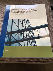 Math 102: Linear Algebra