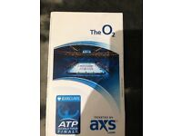 O2 tennis final ticket