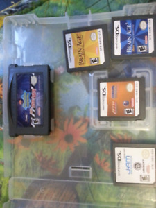 Ds / game boy games 15$ for all 6games