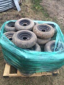 Packer wheel 4.8 8 tire