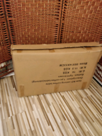 RATTON TABLE (brand new,boxed).