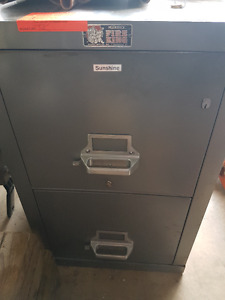 Murphy Fire King filing cabinet  keys dont work