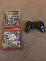 PS3 six axis controller and gta