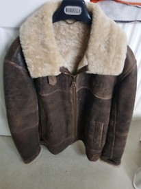 Mens sorry sold sheepskin flying jacket