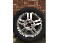 Ford Focus alloy wheel
