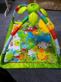 Baby Play Mat (Jungle Themed)