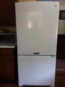 Kenmore Fridge and Freezer Combo