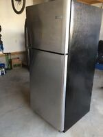 5 year old stainless refrigerator.