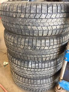 195/65R15 studded winter tires.
