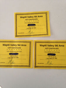 Wapiti Valley Lift Tickets