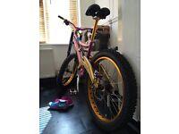 Whyte custom dh fr semi fat bike