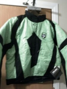 HJC STORM S16 BREATABLE SNOWMOBILE JACKET LITE GREEN