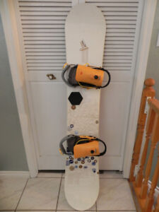 160cm/OPTION snowboard with bindings