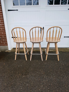 3 bar stools $60 or best