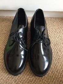 Black Urban Outfitter shoes size 4