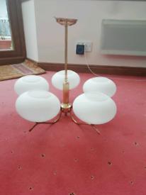 Brass light fittings