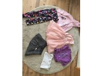 Girls clothes bundle age 6/7 Years 6-7 Party dress skirt leggings hoody
