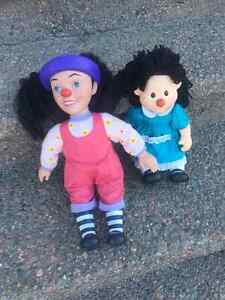 Molly & Lunette Dolls from The Big Comfy Couch