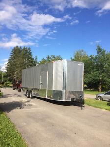 2017 24fr freedom 8.5 ft inside height car hauler