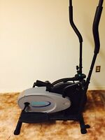 Body Rider Dual-Action Fan Elliptical Trainer BR1800