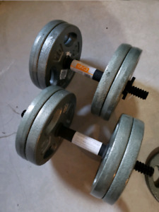 Brand New Cast Iron Weights/Dumbbells 110lbs