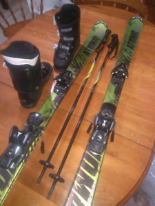 Youth ski set