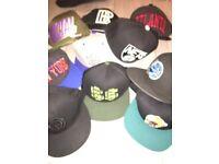Hat bundle all snap backs some new era £30