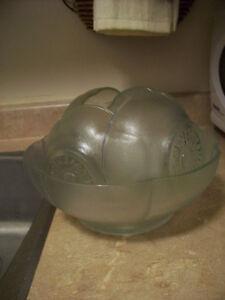 Set of glass bowls