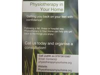 Physiotherapy in your home is a service which provides private Physio in clients homes.