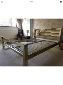 King Size Vintage Brass Bed *Great Condition Bargain*