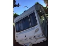 Caravan abbey expression 2 berth 1997