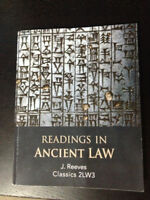 Readings in Ancient Law