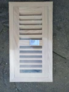 4X10 Red Oak floor air vent / register