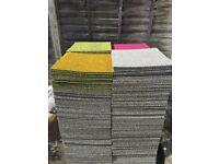 Quality Carpet tiles - new or used 50cm/50cm (4 tiles for 1 m.sq)