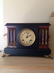 Antique New Haven Seven Day Clock