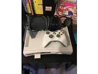 Xbox 360 with FIFA and wireless controller