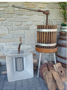 Grape Crusher and Press