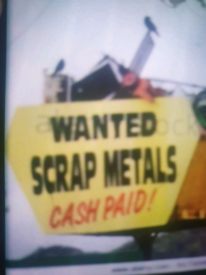Wanted scrap metal!Free collection all London areas