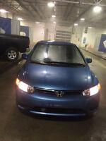 2007 Honda Civic LX Coupe (2 Door,Clean Carproof Active Alberta)