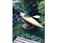 Perception Kayak & paddle for sale