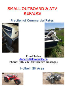 SMALL OUTBOARD & ATV REPAIRS