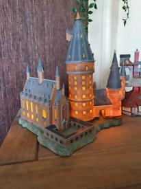Harry potter light up hall & tower