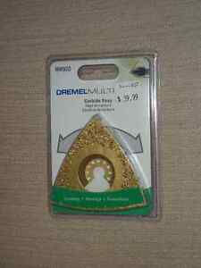BRAND NEW SEALED Dremel MM920 Carbide Rasp 24 Grit for Grinding