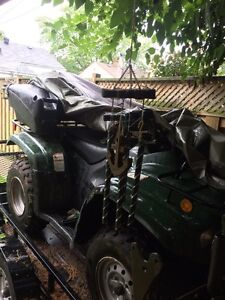 ATV for sale. Comes with plow & more  Cambridge Kitchener Area image 7