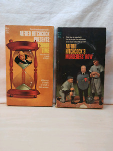 2 livres Alfred Hitchcock's
