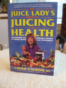 JUICING FOR HEALTH...by Cherie Calbom...[1999 edition]...