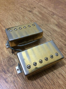 Matched pair of Gibson humbucker pickups