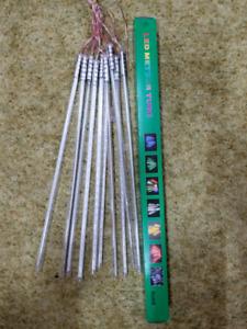 Led meteor lights 20$