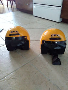 Two Youth CKX helmets S and XS
